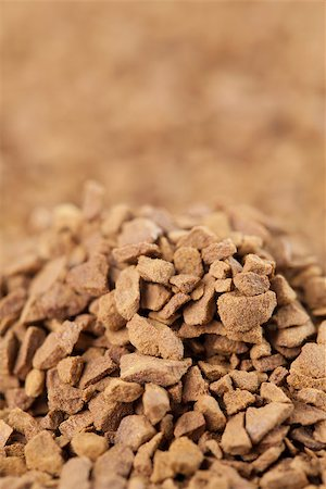 Background made from instant coffee granules Stock Photo - Budget Royalty-Free & Subscription, Code: 400-06770869