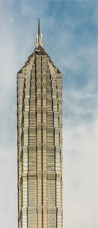 architecture details skyscrapers building Jin Mao Tower pudong shanghai china Stock Photo - Budget Royalty-Free & Subscription, Code: 400-06770944