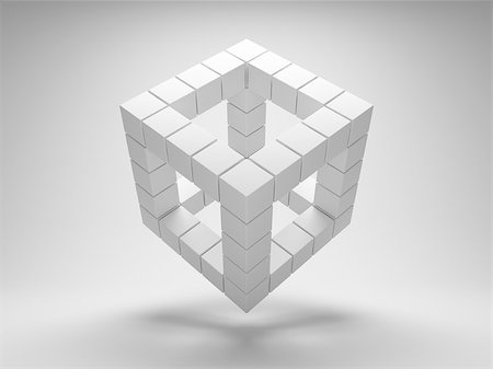 enki (artist) - Design geometric shapes of the cubes Stock Photo - Budget Royalty-Free & Subscription, Code: 400-06854633