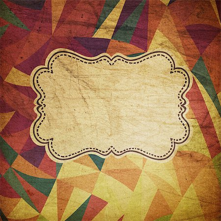 Retro grunge circus background Stock Photo - Budget Royalty-Free & Subscription, Code: 400-06858446