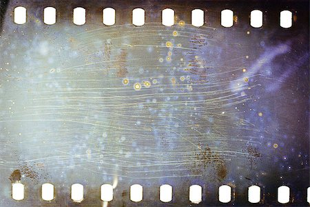 film strip - Blank grained moldy film strip texture background Stock Photo - Budget Royalty-Free & Subscription, Code: 400-06859083