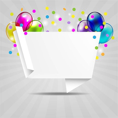 Birthday Invitation With Gradient Mesh, Vector Illustration Stock Photo - Budget Royalty-Free & Subscription, Code: 400-06850271