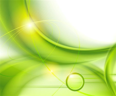 Abstract green background Stock Photo - Budget Royalty-Free & Subscription, Code: 400-06850506
