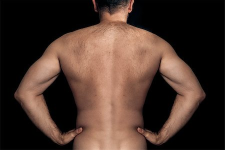 An image of a natural male back Stock Photo - Budget Royalty-Free & Subscription, Code: 400-06853049