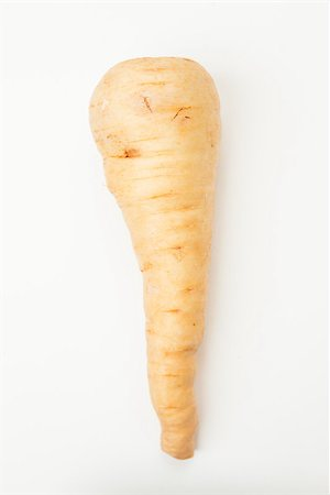 Parsnip on white background Stock Photo - Budget Royalty-Free & Subscription, Code: 400-06864387