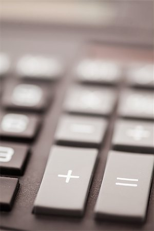 Section of pocket calculator Stock Photo - Budget Royalty-Free & Subscription, Code: 400-06864427