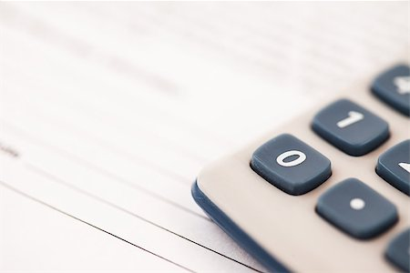 Close-up of pocket calculator Stock Photo - Budget Royalty-Free & Subscription, Code: 400-06864423