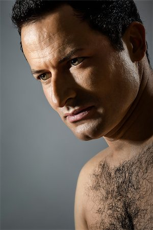 An image of a handsome male portrait Stock Photo - Budget Royalty-Free & Subscription, Code: 400-06916712