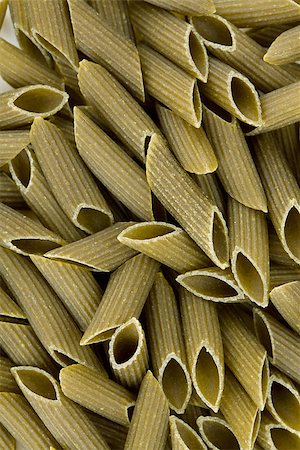 Green colored penne pasta. Food background Stock Photo - Budget Royalty-Free & Subscription, Code: 400-06917504