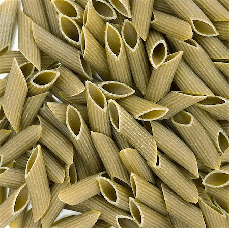 Green colored penne pasta. Food background Stock Photo - Budget Royalty-Free & Subscription, Code: 400-06917505