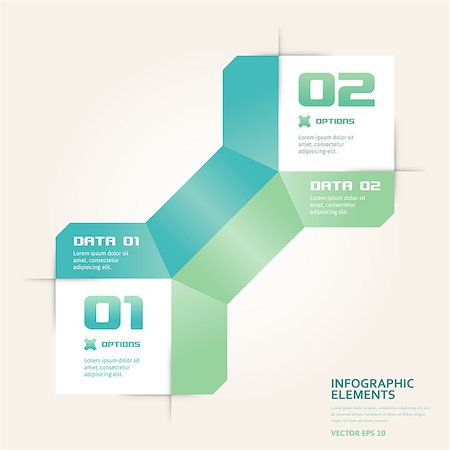 Modern origami style number options banner. Vector illustration EPS 10. Can be used for workflow layout, diagram, web design, infographics. Stock Photo - Budget Royalty-Free & Subscription, Code: 400-06911456
