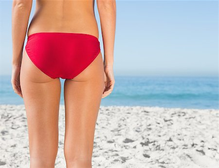 simsearch:400-04002563,k - Perfect womans buttocks on the beach Stock Photo - Budget Royalty-Free & Subscription, Code: 400-06929984