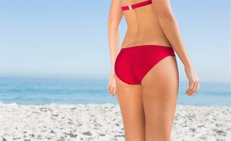 simsearch:400-04002563,k - Perfect young womans buttocks on the beach Stock Photo - Budget Royalty-Free & Subscription, Code: 400-06929985