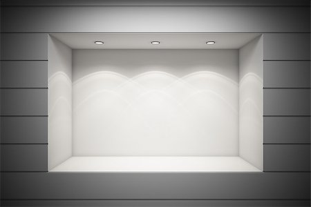 enki (artist) - An empty storefront of shop Stock Photo - Budget Royalty-Free & Subscription, Code: 400-06950205