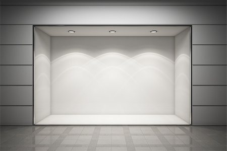 enki (artist) - An empty storefront of shop Stock Photo - Budget Royalty-Free & Subscription, Code: 400-06950203