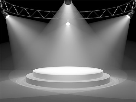 enki (artist) - Empty stage in spot lights Stock Photo - Budget Royalty-Free & Subscription, Code: 400-06950211