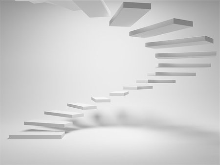 enki (artist) - Abstract stairs of the blocks Stock Photo - Budget Royalty-Free & Subscription, Code: 400-06950212