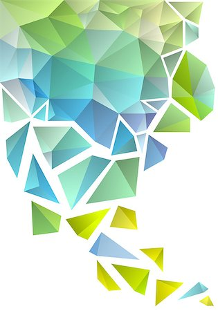 abstract geometric polygon background, vector Stock Photo - Budget Royalty-Free & Subscription, Code: 400-07036257