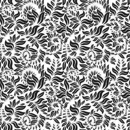 seamless floral pattern, can be used as a background Stock Photo - Budget Royalty-Free & Subscription, Code: 400-07033813