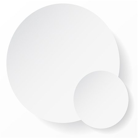 White circle abstract background with shadows for your business presentation. Also available as a Vector in Adobe illustrator EPS format, compressed in a zip file. The vector version be scaled to any size without loss of quality. Stock Photo - Budget Royalty-Free & Subscription, Code: 400-07049471