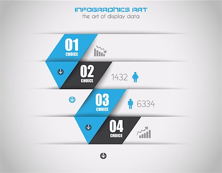 report icon - Infographics concept background to display your data in a stylish way. Clean detailaed design for stats, ranking and classifications. Stock Photo - Budget Royalty-Free & Subscription, Code: 400-07042368