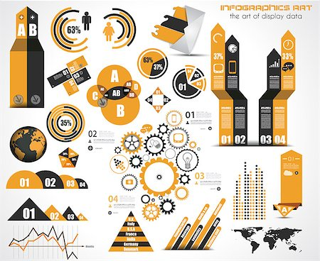 report icon - Infographic elements - set of paper tags, technology icons, cloud cmputing, graphs, paper tags, arrows, world map and so on. Ideal for statistic data display. Stock Photo - Budget Royalty-Free & Subscription, Code: 400-07042387