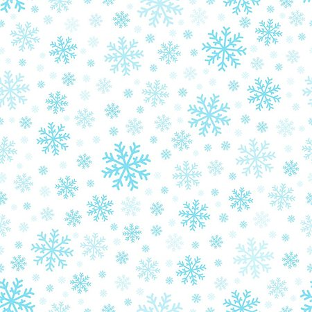 Seamless background snowflakes 3 - eps10 vector illustration. Stock Photo - Budget Royalty-Free & Subscription, Code: 400-07052415