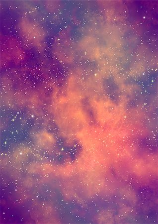 "Far being shone nebula and star field against space. ""Elements of this image furnished by NASA"". Stock Photo - Budget Royalty-Free & Subscription, Code: 400-07094544"