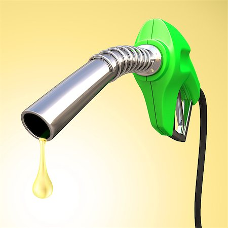 Gas pump with a drop of gasoline fuel. Stock Photo - Budget Royalty-Free & Subscription, Code: 400-07096085