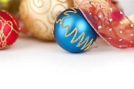 Christmas Balls Stock Photo - Budget Royalty-Free & Subscription, Code: 400-07099710