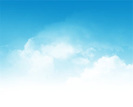 Cloudy blue sky abstract background Stock Photo - Budget Royalty-Free & Subscription, Code: 400-07090651
