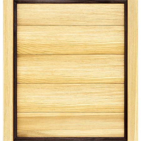 wooden billboard with frame. Stock Photo - Budget Royalty-Free & Subscription, Code: 400-07091357