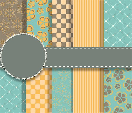 scope - set of beaautiful vector paper for scrapbook Stock Photo - Budget Royalty-Free & Subscription, Code: 400-07104910