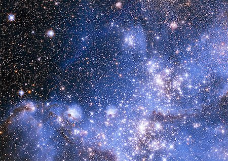 "Small part of an infinite star field of space in the Universe. ""Elements of this image furnished by NASA"". Stock Photo - Budget Royalty-Free & Subscription, Code: 400-07102592"
