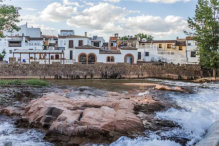 puentes - River view of Puente de Genave in Andalusia, Spain Stock Photo - Budget Royalty-Free & Subscription, Code: 400-07123654
