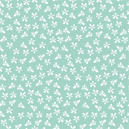 seamless floral - Seamless floral pattern background. Great for textile or web page background. Stock Photo - Budget Royalty-Free & Subscription, Code: 400-07171537