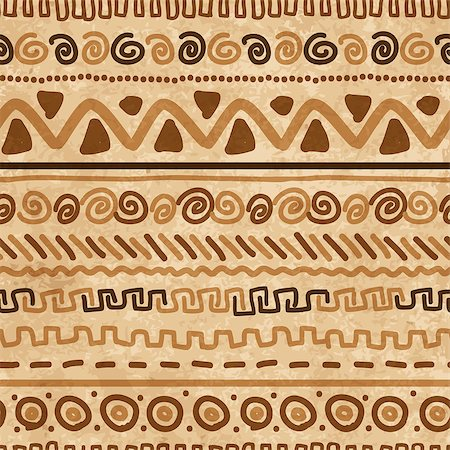 Handmade pattern with ethnic geometric ornament for your design Stock Photo - Budget Royalty-Free & Subscription, Code: 400-07171939