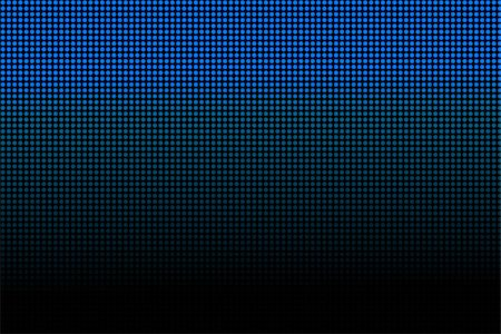Futuristic dotted blue and black background Stock Photo - Budget Royalty-Free & Subscription, Code: 400-07182029