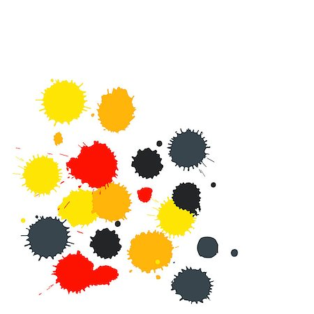 dripping colour art - Blot background with copy space. Also available as a Vector in Adobe illustrator EPS format, compressed in a zip file. The vector version be scaled to any size without loss of quality. Stock Photo - Budget Royalty-Free & Subscription, Code: 400-07208279