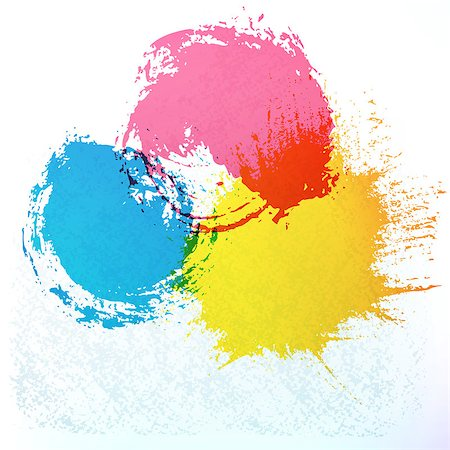 Spots of watercolor paint.The illustration contains transparency and effects. EPS10 Stock Photo - Budget Royalty-Free & Subscription, Code: 400-07215214