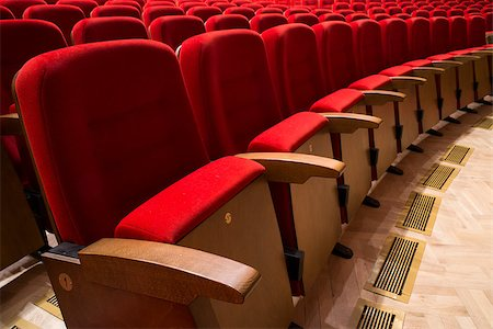 Red seats in a theater and opera Stock Photo - Budget Royalty-Free & Subscription, Code: 400-07244778