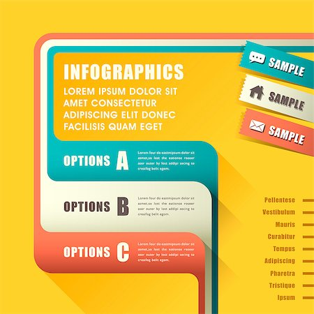 modern vector abstract infographic elements design Stock Photo - Budget Royalty-Free & Subscription, Code: 400-07249947