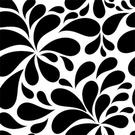 Floral Seamless Pattern Background for Wedding and Birthday. Vector Illustration Stock Photo - Budget Royalty-Free & Subscription, Code: 400-07265757