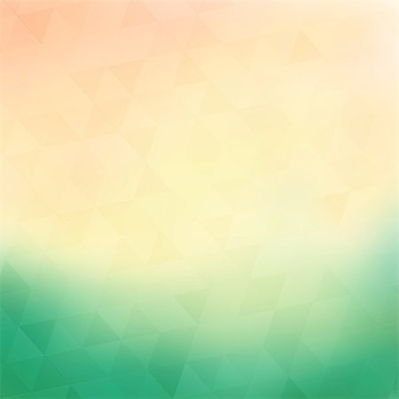 Colorful geometric background with triangles Stock Photo - Budget Royalty-Free & Subscription, Code: 400-07266630