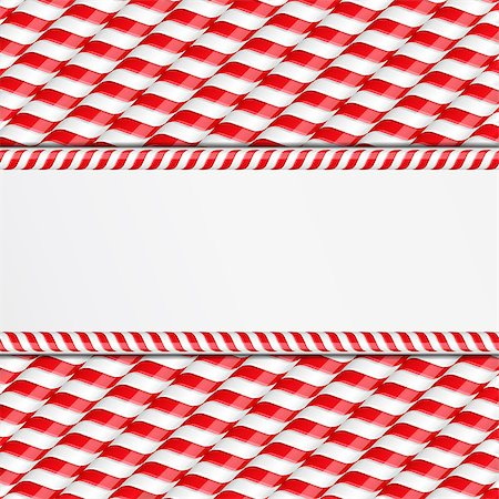red stick candy - Background made of candy canes with place for your text, vector eps10 illustration Stock Photo - Budget Royalty-Free & Subscription, Code: 400-07266682