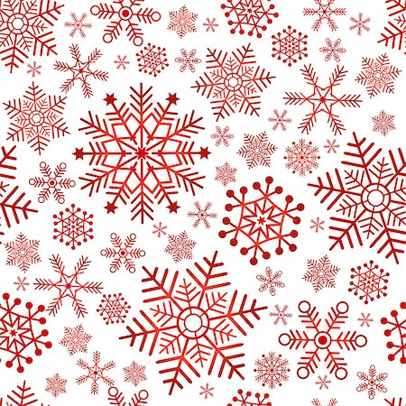 pink and purple fireworks - Seamless christmas pattern with red classic snowflakes (vector) Stock Photo - Budget Royalty-Free & Subscription, Code: 400-07261287