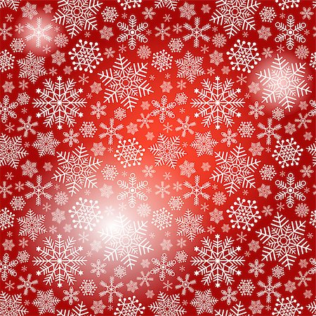 pink and purple fireworks - Seamless red christmas pattern with white snowflakes and spots (vector eps 10) Stock Photo - Budget Royalty-Free & Subscription, Code: 400-07261308