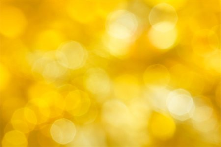 pzromashka (artist) - Golden festive abstraction. Defocus highlights. yellow background Stock Photo - Budget Royalty-Free & Subscription, Code: 400-07294043