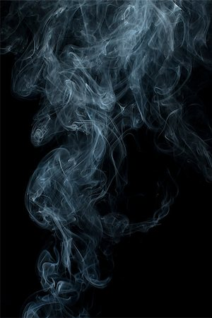 smoke magic abstract - Smoke on black background. Swirls and art Stock Photo - Budget Royalty-Free & Subscription, Code: 400-07295597