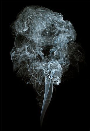 smoke magic abstract - Smoke on black background. Swirls and art Stock Photo - Budget Royalty-Free & Subscription, Code: 400-07295606